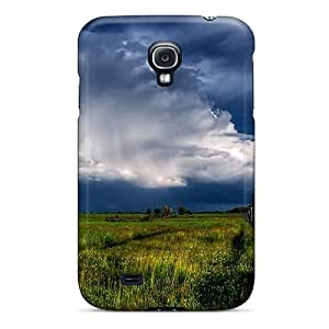 Galaxy S4 Case Slim [ultra Fit] Clouds Protective Case Cover
