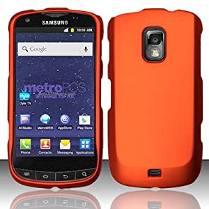 For Samsung Galaxy S Lightray 4G R940 (MetroPCS) Rubberized Cover - Orange