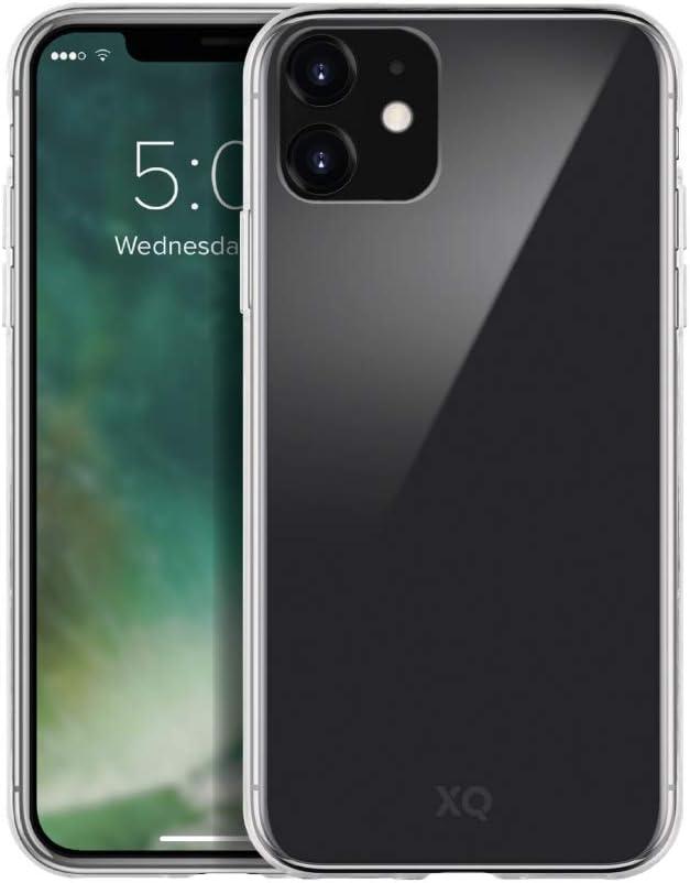 XQISIT Coque en verre fantôme pour iPhone 11 6,1