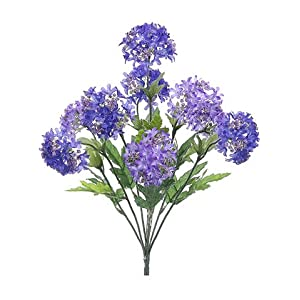 "18"" Snowball Bush x9 Purple Lavender (pack of 12) 10"
