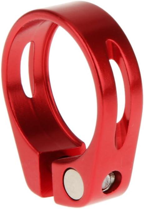 Collier de Tige de Selle Alliage dAluminium Lib/ération Rapide V/élo VTT