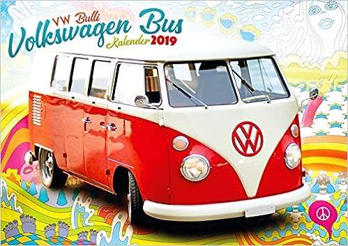 Vw Bus Camper Vans 2019 Calendar Gifts Accessories Amazon Co Uk
