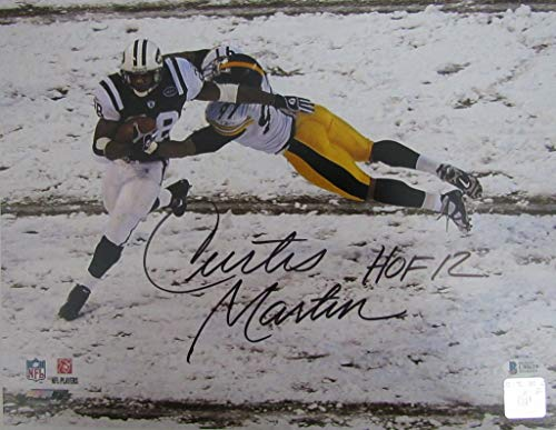 Curtis Martin New York Jets Signed/Autographed 11x14 Photo Beckett 144015