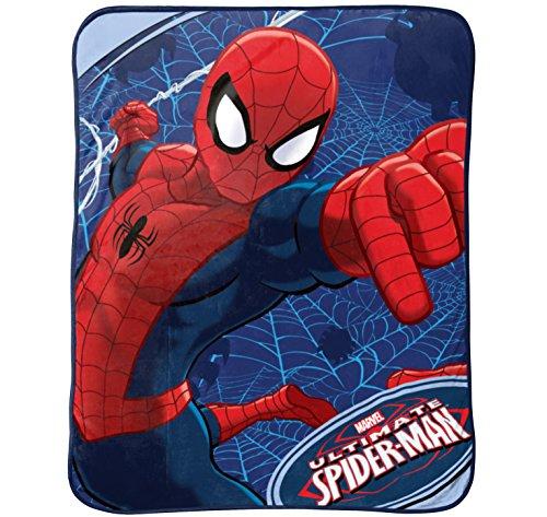 MARVEL Spiderman Plush Throw, Astonish by Marvel