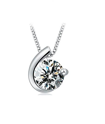 Designer inspired simulated diamond love pendant necklace sterling designer inspired simulated diamond love pendant necklace sterling silver 925 style 1 aloadofball Image collections