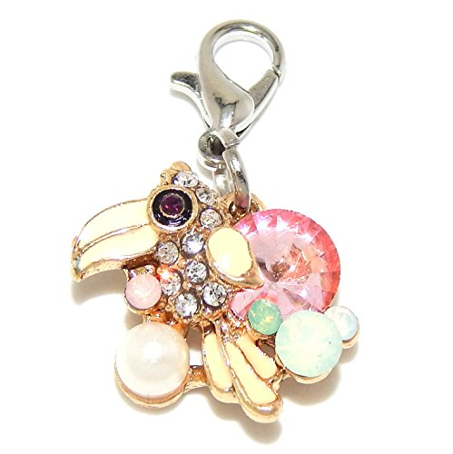 Synthetic Pearl Charm - Pro Jewelry Dangling Gold Tone