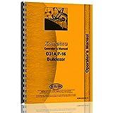 New Komatsu D31A Operator Manual