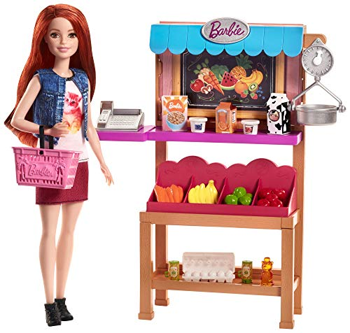 Barbie Grocery Playset Only $9.99