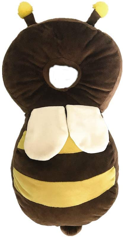 Head and Shoulder Protector Infant Safety Pillow Soft Cute Wings Protector for Toddler Walkers HAPPYX Baby Head Protection Pillow