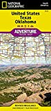 United States, Texas and Oklahoma (National Geographic Adventure Map)