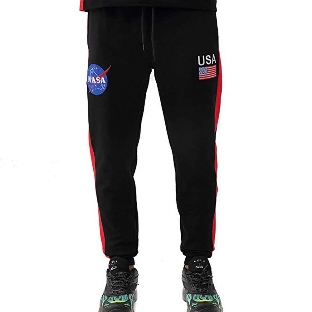 HUDSON Mens NASA Meatball Future Classic Jogger Black h4052380-blk