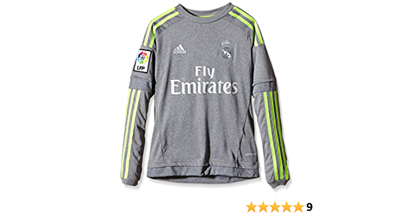 adidas Real Madrid Away Long Sleeve Camiseta Niños