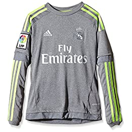 adidas Real Madrid Maillot à Manches Longues Enfant