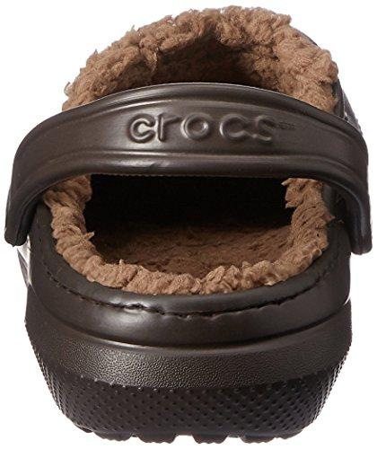 Crocs Espresso Classic Walnut Clog Lined amp; Men's Women's fqZrCfw