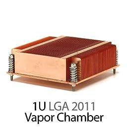 Dynatron R15 1U LGA 2011 All Copper Sandy Bridge EP/EX CPU Heatsink - NEW