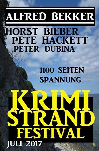 Krimi Strand Festival Juli 2017 (German Edition)