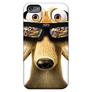 iphone 4 /4s Protector mobile phone skins Eco-friendly Packaging Shock Absorbing scrat ice age