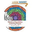 Mantra Mandalas Coloring Pages Vol. 5: Circles of Joy (Volume 5)