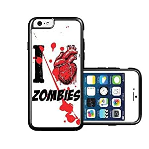 RCGrafix Brand I Heart Love Zombies iPhone 6 Case - Fits NEW Apple iPhone 6