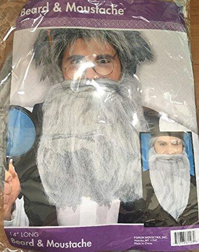 Grey  (Halloween Facial Hair)