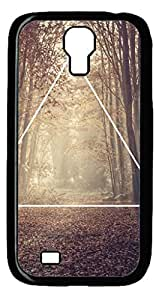 Samsung Galaxy S4 Case, iCustomonline Full Protective Back Cover Case for Samsung Galaxy S4 I9500 Black