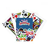 Glasses Hat Mask Happy Carnival Of Venice Poker Playing Card Tabletop Board Game Gift