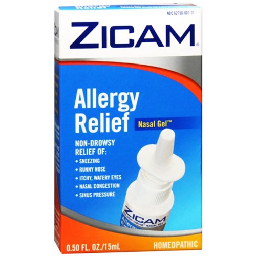 Zicam Allergy Relief Nasal Gel - Pack of 6