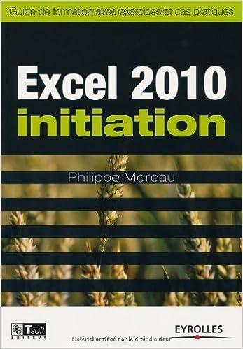 telecharger cours excel 2010 gratuit pdf
