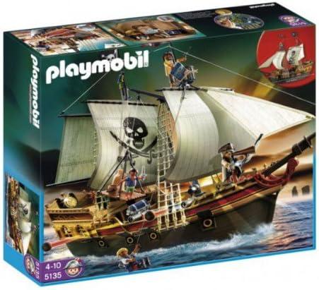 PLAYMOBIL - Barco Pirata de Ataque, Set de Juego (5135): Amazon.es: Juguetes y juegos