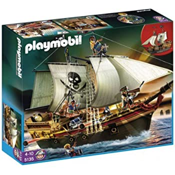 PLAYMOBIL Pirates Ship (Discontinued by manufacturer)
