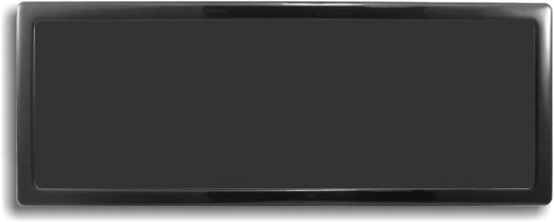 DEMCiflex Computer Dust Filter, 3 x 120mm ID Rectangle, Black Frame/Black Mesh