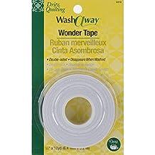 "Bulk Buy: Dritz Quilting Washaway Wonder Tape 1/4"" X 10 Yards 3310 (3-Pack)"
