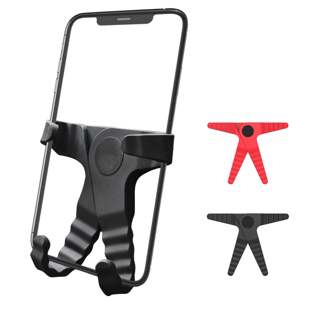 LG Huawei and More Phone Holder for Car,Air Vent Car Phone Mount,Universal One-Hand Operation Car Mount Phone Holder for iPhone,Samsung,Note8 Google Black