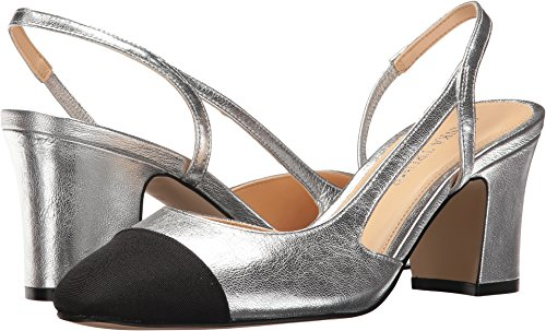 Ivanka Trump Womens Liah Dress Pump Argento Multi Galaxy / Grosgrain