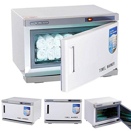 [해외]Giantex 2 1 뜨거운 자외선 살균기 타올 온열 장치 캐비닛 스파 뷰티 살롱 장비 16L/Giantex 2 in 1 Hot UV Sterilizer Towel Warmer Cabinet Spa Beauty Salon Equipment 16L