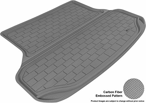 3D MAXpider Cargo Custom Fit All-Weather Floor Mat for Select Lexus RX350/330 Models - Kagu Rubber (Gray)