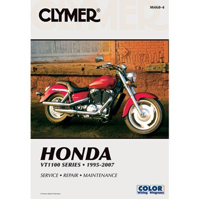 Clymer Repair Manuals for Honda Shadow 1100 Sabre VT1100C2 2000-2007