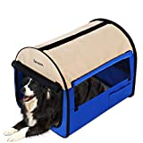 Cheap Homdox 38 Inch Dog Crate Soft Pet Crate Portable Folding Soft Pet Cat Carrier Cage