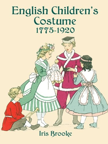 English Children's Costume 1775-1920 (Dover Fashion and Costumes) (20's Costumes London)