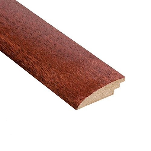 (Home Legend High Gloss Santos Mahogany 3/8 in. Thick x 2 in. Wide x 47 in. Length Hardwood Hard Surface Reducer Molding)