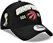 New Era Men's Toronto Raptors Black 2019 NBA Finals Champions Locker Room Replica 9TWENTY Adjustable