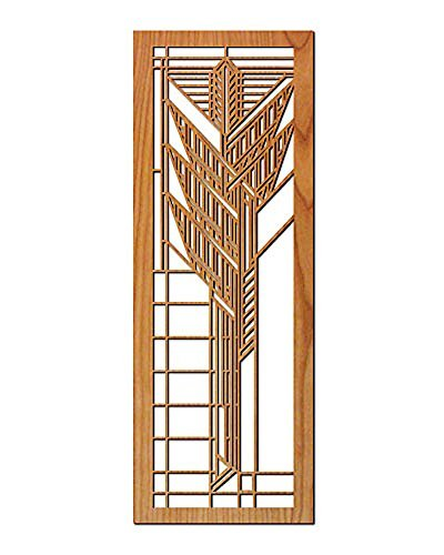 Frank Lloyd Wright Dana Thomas House Sumac Art Glass Wall Element (Dining Dana)
