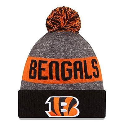 Cincinnati Bengals New Era 2016 NFL Official Sideline Sport Knit Hat