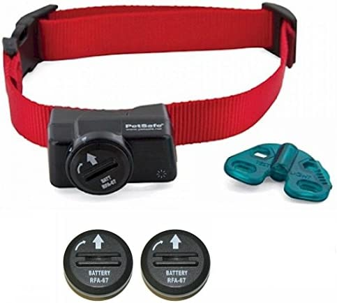 Petsafe Wireless Fence Collar – Waterproof Receiver – 5 Adjustable Levels of correction. – PIF-275-19 – Bonus 2 Batteries