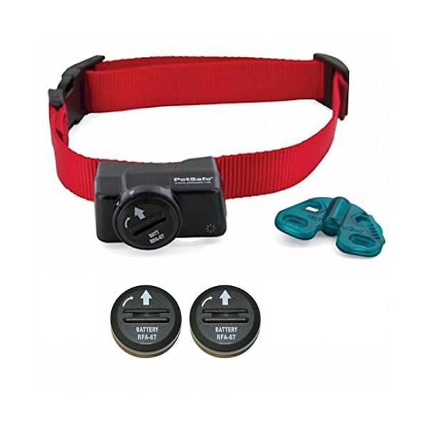Petsafe-Wireless-Fence-Collar-Waterproof-Receiver-5-Adjustable-Levels-of-correction-PIF-275-19-Bonus-2-Batteries