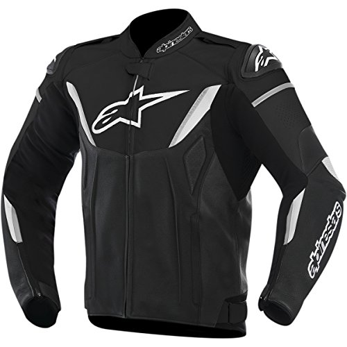 Price comparison product image Alpinestars GP-R Men's Street Motorcycle Jackets - Black / White / 56