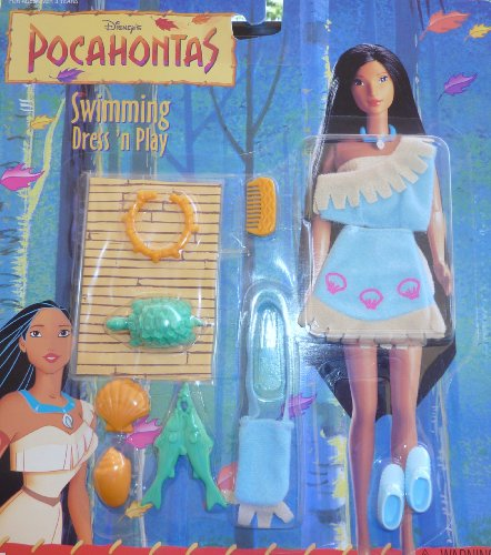 [Disney's Pocahontas Swimming Dress 'N Play] (Pocahontas Dress)