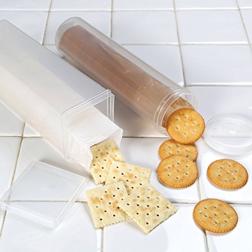 Cracker Keeper Set - Round And Square Cracker ()