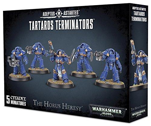 Games Workshop Warhammer 40K 40,000 Adeptus Astartes The Horus Heresy Tartaros Terminators (5 (Space Marine Terminator)