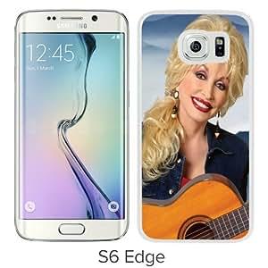 Grace Protactive Dolly Parton White Case Cover for Samsung Galaxy S6 Edge